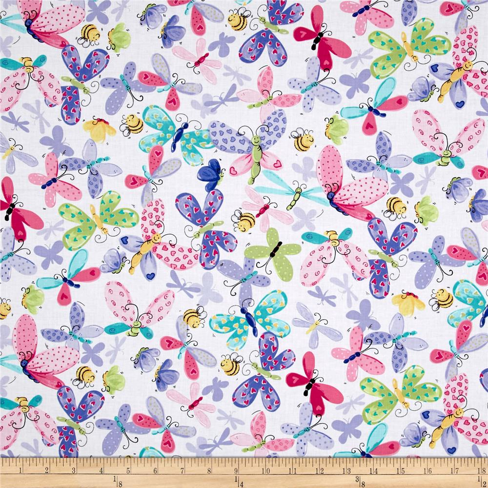 Insects bugs discount designer fabric for Wholesale childrens fabric