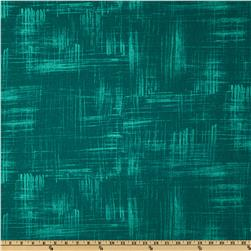 Michael Miller Edges Painters Canvas Teal Fabric