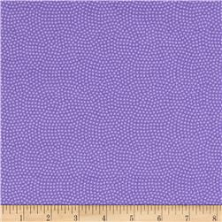Timeless Treasures Flannel Spin Dot Pansy