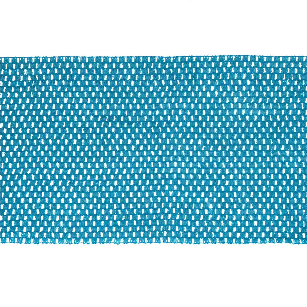 "9"" Crochet Headband Trim Teal"