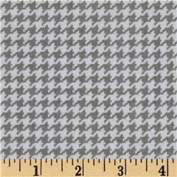 Michael Miller Tiny Houndstooth Stone Fabric