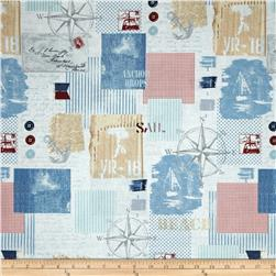 Anchors Away Allover Patch Multi