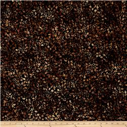 Batavian Batiks Ivy Vines Black/Brown