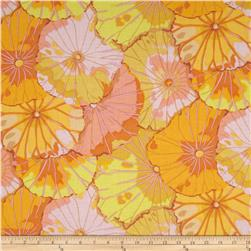 Kaffe Fassett Collective Lotus Leaf Yellow Fabric