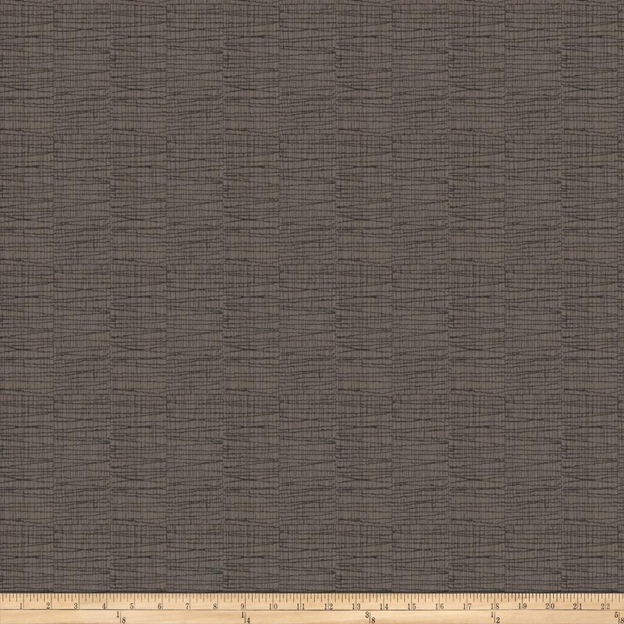 Fabricut Jacquard Upholstery Fall Out Charcoal