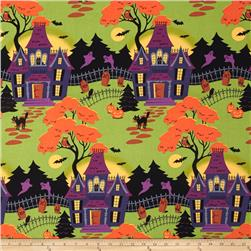 Haunted Hill Toile Black