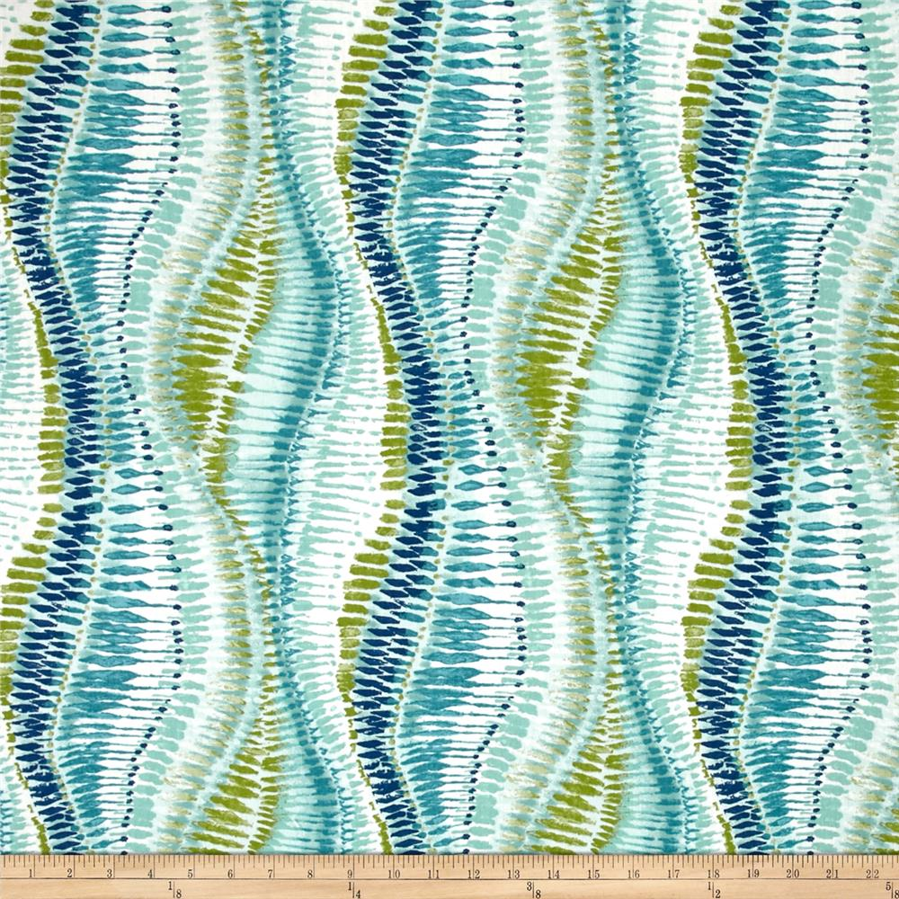 duralee fountain bleau aqua - Home Decor Fabric
