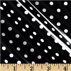 Riley Blake Dot & Dash Laminate Dots Black