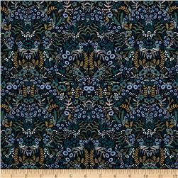 Cotton + Steel Rifle Paper Co. Menagerie Tapestry Navy