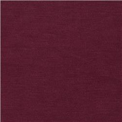 Stretch Rayon Jersey Knit Burgundy