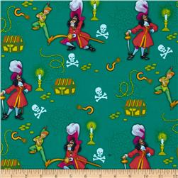 Disney Captain Hook & Peter Pan Green