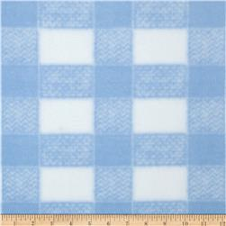 Gingham Fleece Baby Plaid Blue