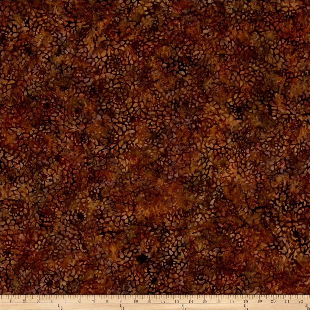 Wilmington Batiks Mosaic Brown
