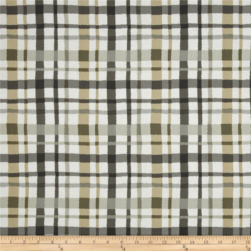 Paintbox Shadows Plaid Taupe