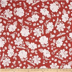 Hoffman Simply Eclectic Lace Floral Currant