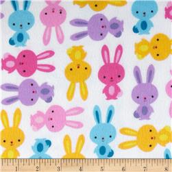 Urban Zoologie Flannel Bunnies Sweet