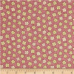 Moda Print Charming Etched Flowers Berry