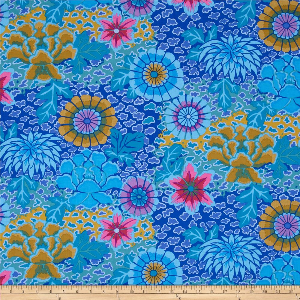 Kaffe fassett collective dream blue discount designer for Modern fabrics textiles