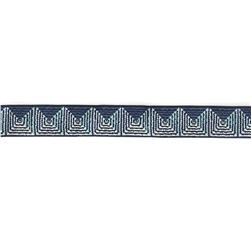 "7/8"" Parson Gray Blue Giza Ribbon"
