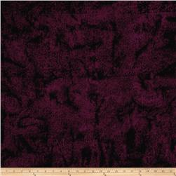 Island Batik Crystal Cove Vertical Lines Plum/Dark Tea