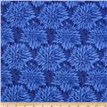Ty Pennington Home Decor Sateen Fall 11 Dahlia Blue