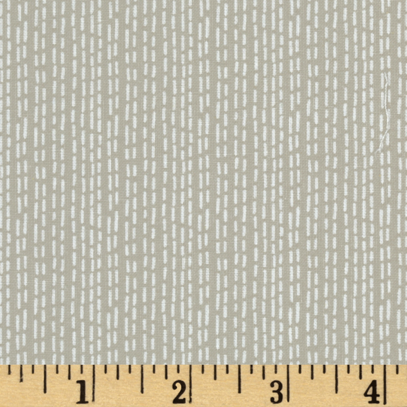 Dear Stella Savannah Ticking Stripe Clay Fabric