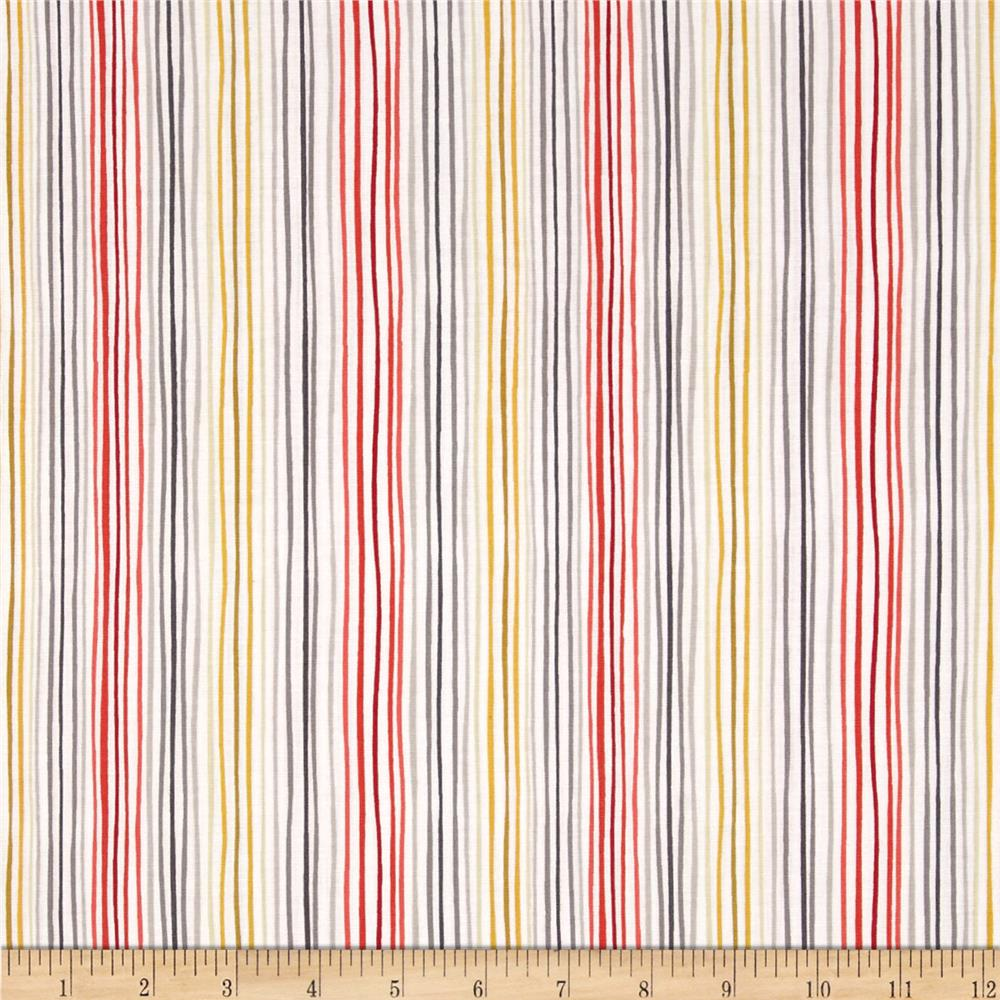 Soho Stripe Red