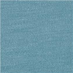 French Terry Solid Sea Blue