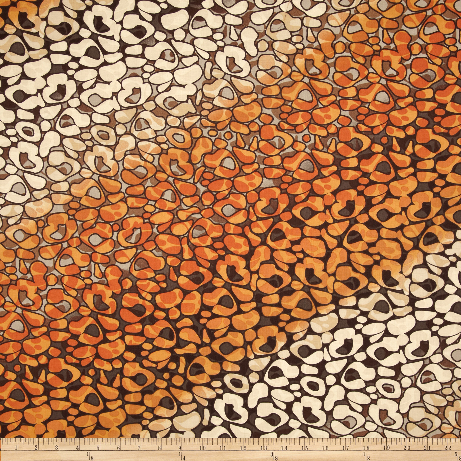 Wild Skins Abstract Leopard Brown