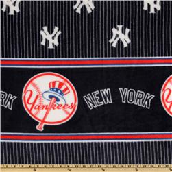 MLB Fleece New York Yankees Double Border