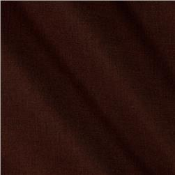 Cotton Voile Shirting Dark Chocolate