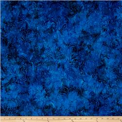 Jinny Beyer Malam Batiks III Leaf Scroll Navy