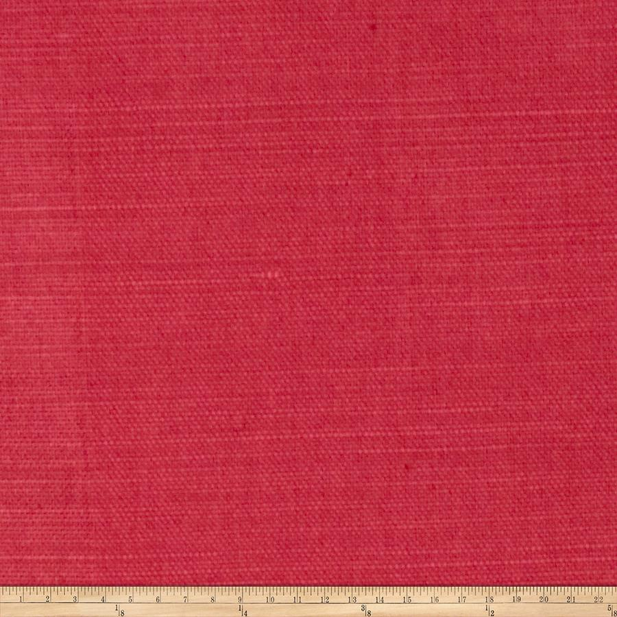Fabricut glossed linen blend watermelon discount for Fabric purchase