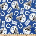 NFL Fleece Indianapolis Colts Small Logo Blue