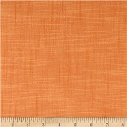 Kaufman Manchester Textured Yarn Dye Solid Shirting Tangerine