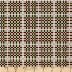 Winter Song Plaid Beige