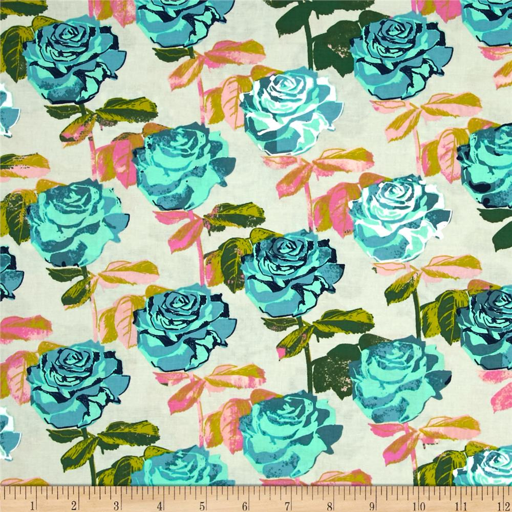 Cotton + Steel Picnic Rose Garden Neutral
