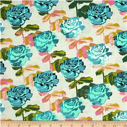 Cotton & Steel Picnic Rose Garden Neutral