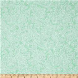 Palm Court Large Paisley Aqua