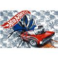 Hot Wheels Fast Car Fleece Panel Grey/White