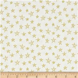 Notepad Stars Citron/White