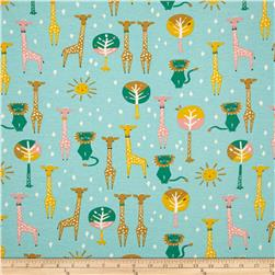 Birch Organic Knit Happy Town Pals Sky