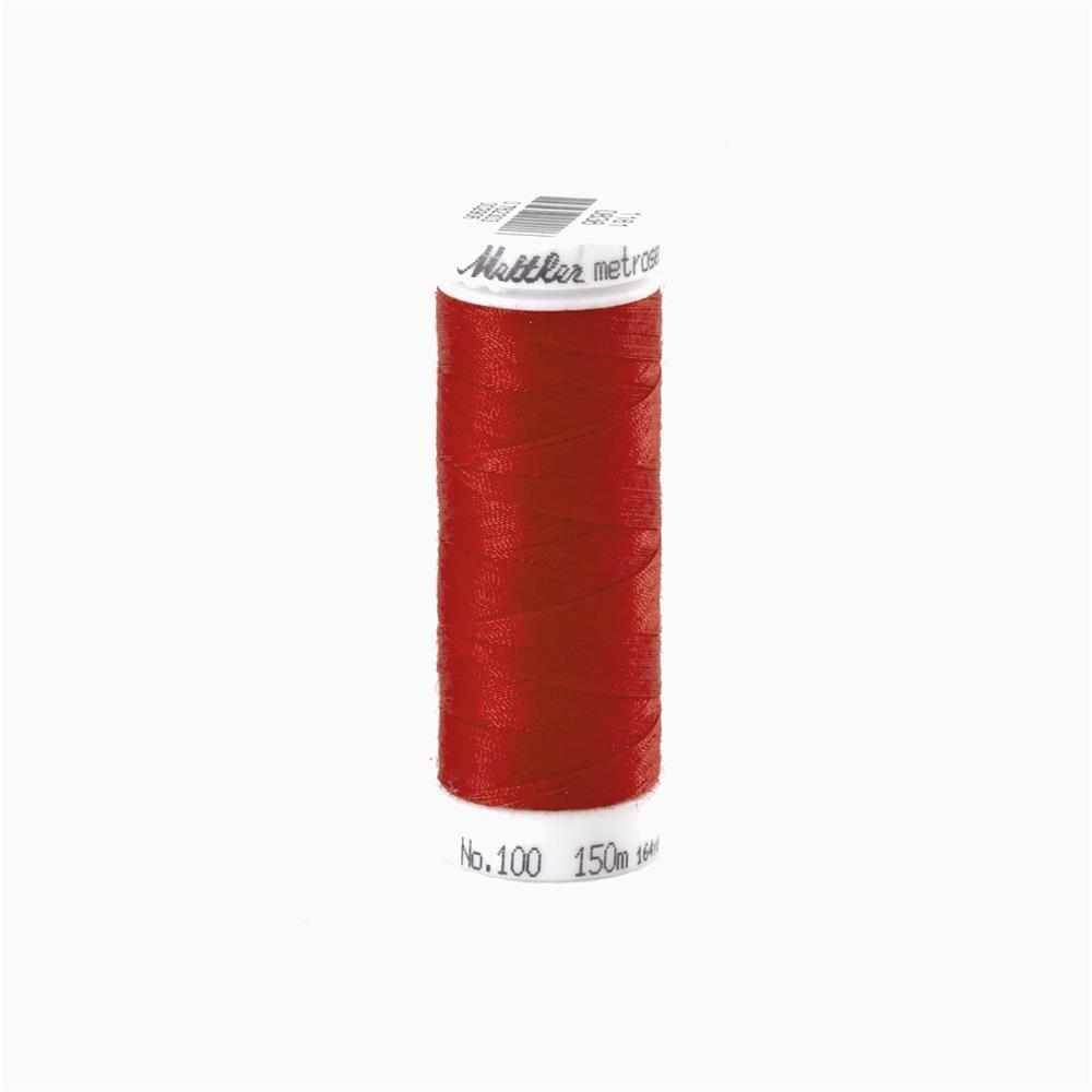 Mettler Metrosene Polyester All Purpose Thread Country Red