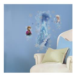 Frozen Ice Palace Elsa & Anna Wall Decals