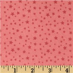 Riley Blake Rodeo Rider Flannel Rodeo Stars Pink Fabric