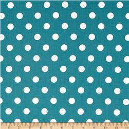 Moda Dottie Medium Dots Lagoon