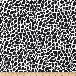 Jungle Jive Giraffe Spots White/Black