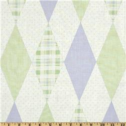 Baby Business Argyle Mint/Purple