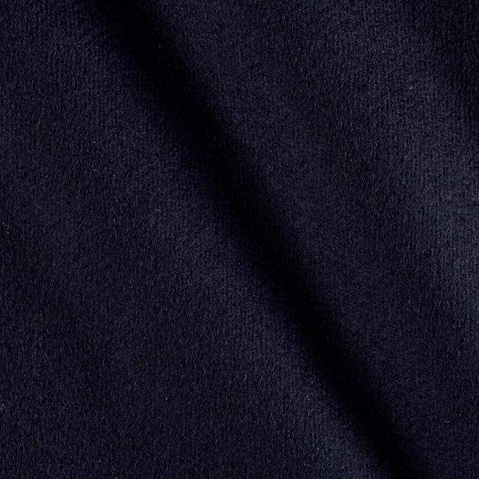 Wool Flannel Solid Navy