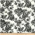 Blousewear Chiffon City Life Black White